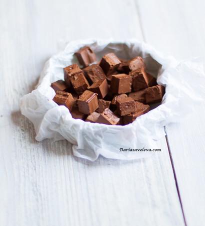 Шоколад с сухим молоком