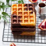 My favorite chocolatevanilla waffles  !    hellip