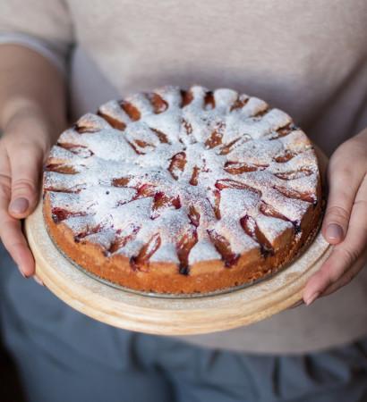 Сдобный-сливовый-пирог Sdobnyi-slivovyi-pirog