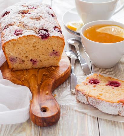 Творожный кекс с ягодами рецепт