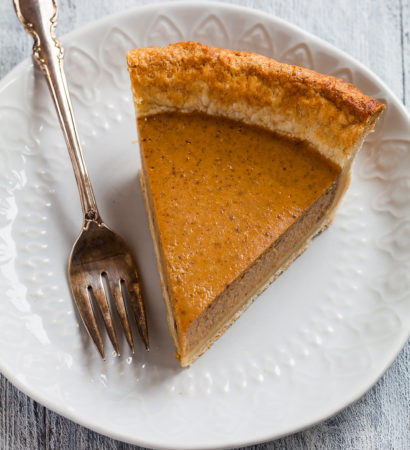 тыквенный пирог с пряностями