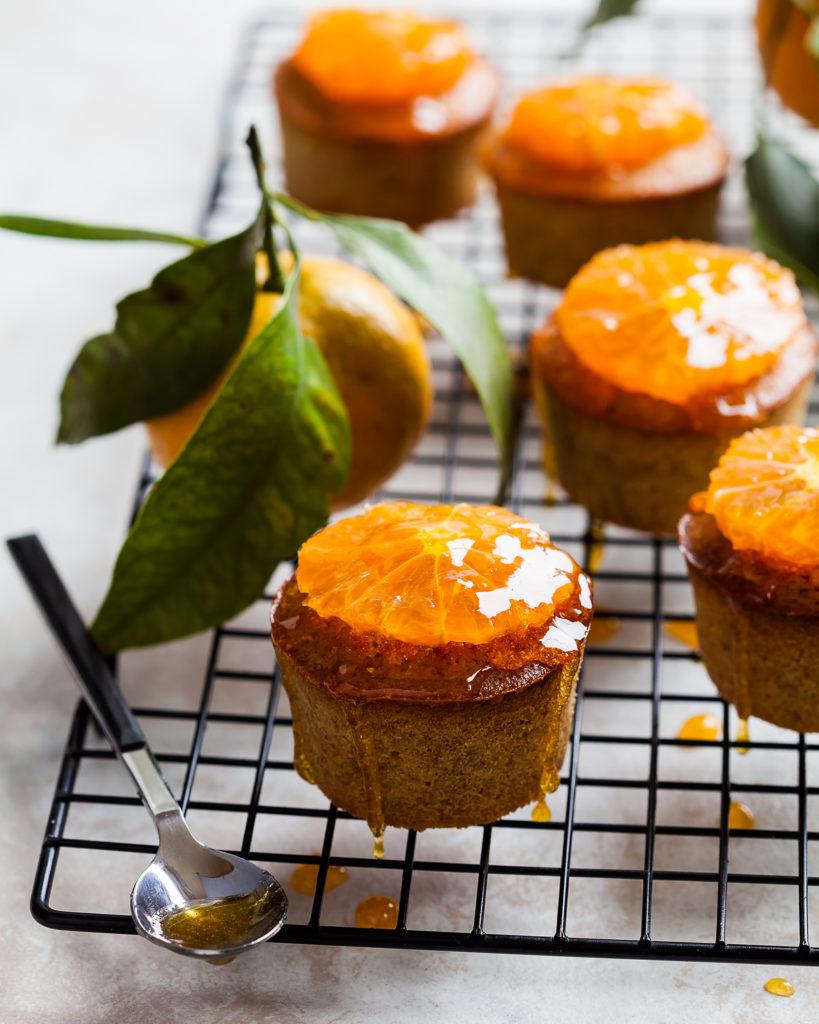 Mindalno-kukuruznye-keksy-s-mandarinami Миндально-кукурузные кексы с мандаринами