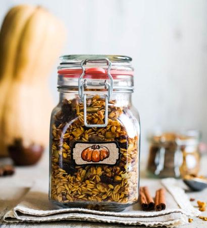Тыквенная-гранола Tykvennaya-granola