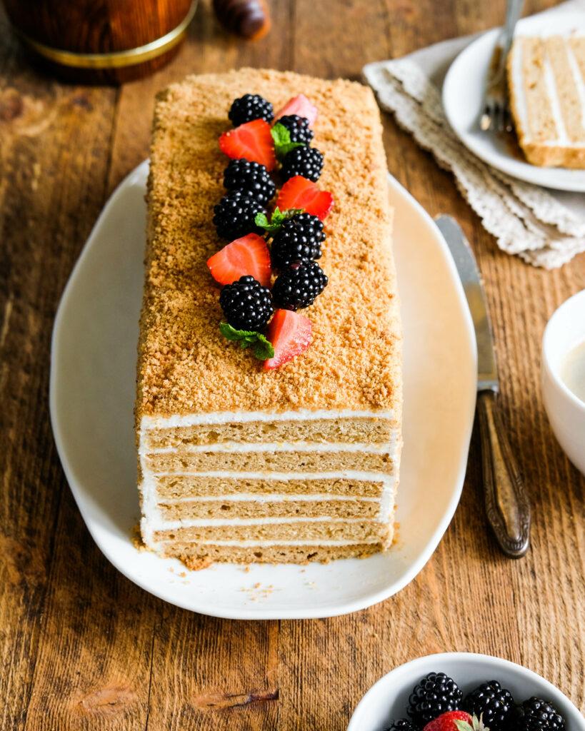 Медовый-торт Medovyj-tort